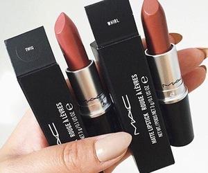 mac, lipstick, and makeup image