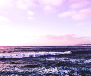 ocean and purple image