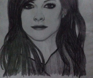 art, Avril Lavigne, and drawing image