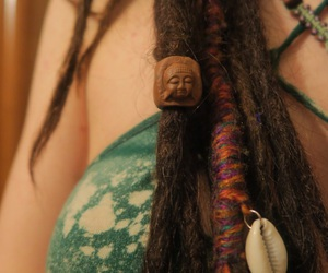 Buddha, dread, and dreadlocks image