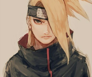 naruto, deidara, and anime image