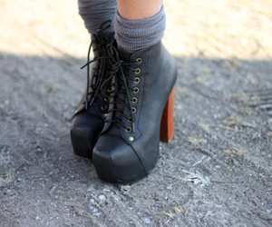 black shoes and heels image