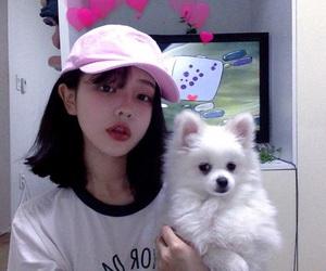 ulzzang, dog, and korean image