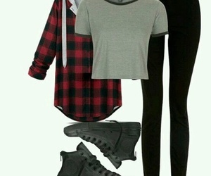 fashion, outfit, and teen wolf image