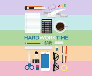 study hard image