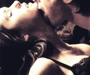 Vampire Diaries, katherine pierce, and damon salvatore image
