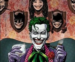 joker, batman, and superman image