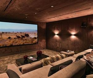 decor, home decor, and sofa image