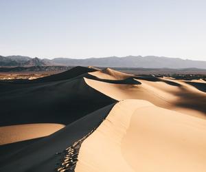desert, sand, and nature image