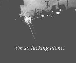 alone, sad, and wallpaper image