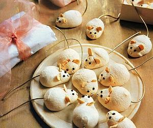 christmas, mice, and sweets image