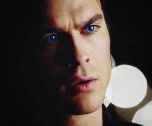 damon salvatore, tvd, and eyes image