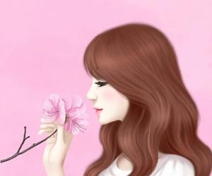 art girl, lovely girl, and mellow j image