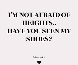 afraid, heights, and fashionchick image