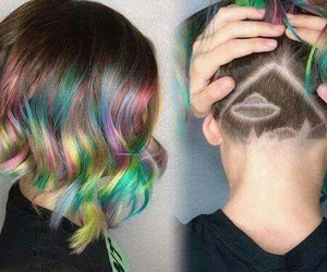 hair and alien image