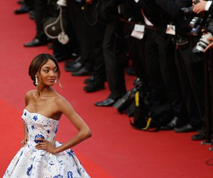 cannes, dress, and eyes image
