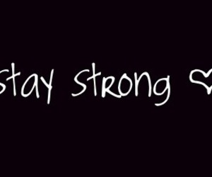 text, stay strong, and demi lovato image