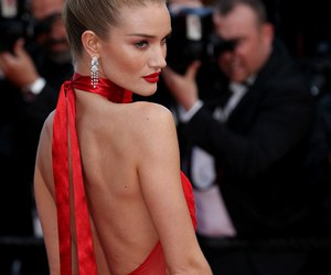 model, red, and cannes image
