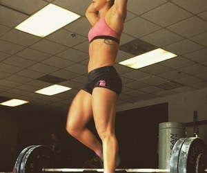 strong, weightlifting, and mattie rogers image