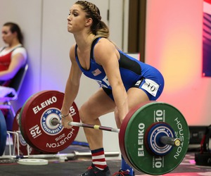 strong, weightlifting, and olympic weightlifting image