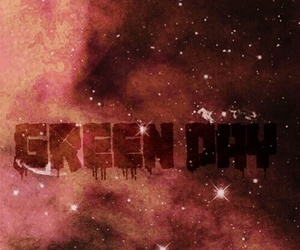 galaxy, green day, and wallpaper image