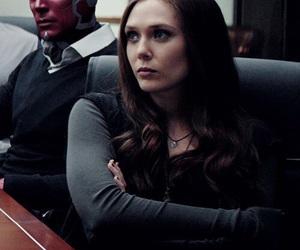 Marvel, scarlet witch, and civil war image