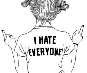 black, i hate, and tumblr image