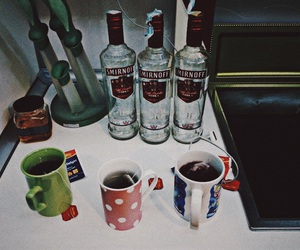 tea, vodka, and houseparty image