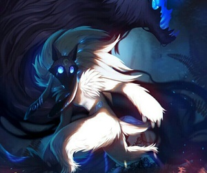 kindred, league of legends, and lol image