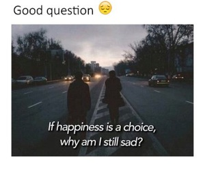 choice, hurt, and life is hard image