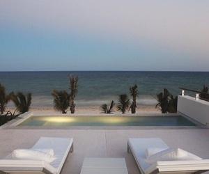 beach and luxury image