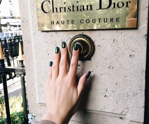 fashion, nails, and dior image