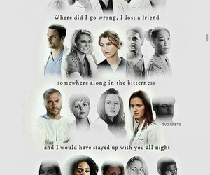 grey's anatomy, dead, and meredith grey image