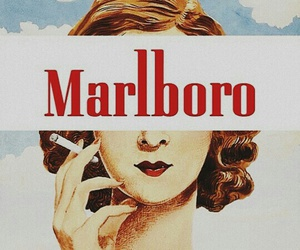 marlboro, smoke, and vintage image