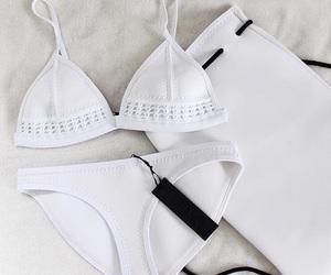 bathing suit, bikini, and fashion image