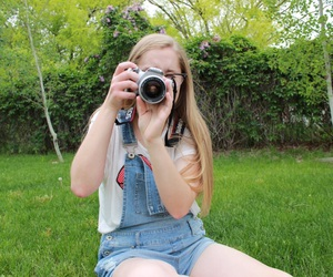 aesthetic, canon, and sunflower image