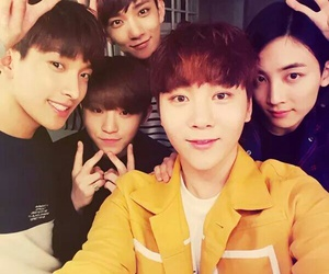 DK, Seventeen, and joshua image