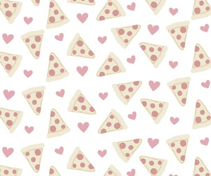 pizza, pattern, and wallpaper image