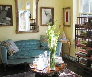 decor, interior design, and vintage image