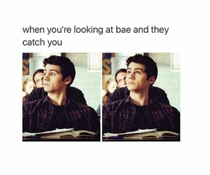 funny, teen wolf, and bae image