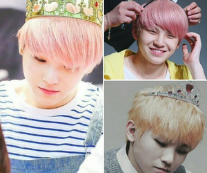 king, woozi, and Seventeen image