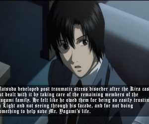 anime, death note, and L image