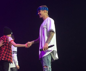 smile, justin bieber, and purpose tour image