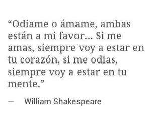 amor, william shakespeare, and spanish qoutes image
