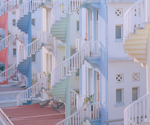 pastel, house, and pale image