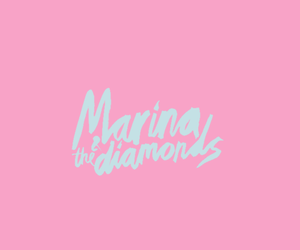 marina and the diamonds, photo, and pink image
