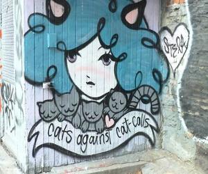 cat and feminism image