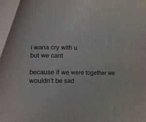 quotes, sad, and cry image
