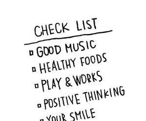food, positive, and music image
