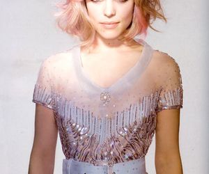 rachel mcadams, hair, and pink image